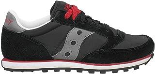 Women's Jazz Low Pro Sneaker,Black/Gray/Red,8.5 M US