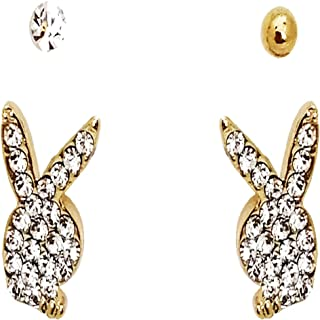Gold Plated Drop Earring For Women 4 Pieces (earring-4)