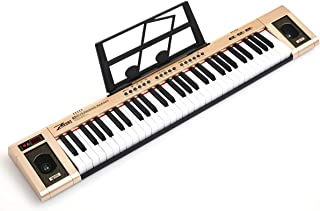 ZHRUNS Electric Keyboard 61 Keys & Sheet Music Stand
