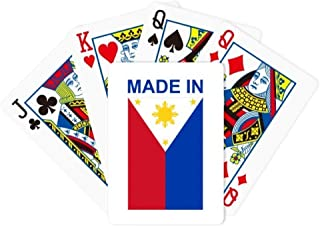 DIYthinker Made in Philippines Country Love Poker Playing Card Tabletop Board Game Gift