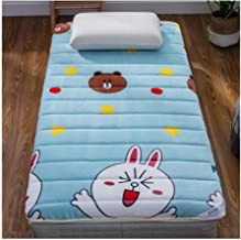 Futon Mattress, Comfortable Soft Foldable Tatami Mattress Thick Warm Mattress Single Double Adult Bedroom Bedding Mattress...