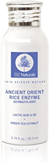 OZNaturals Scrub para tu cara - Este exfoliante facial contiene ácido láctico ácido alfa lipoico bambú y Pro Vitamina B5...
