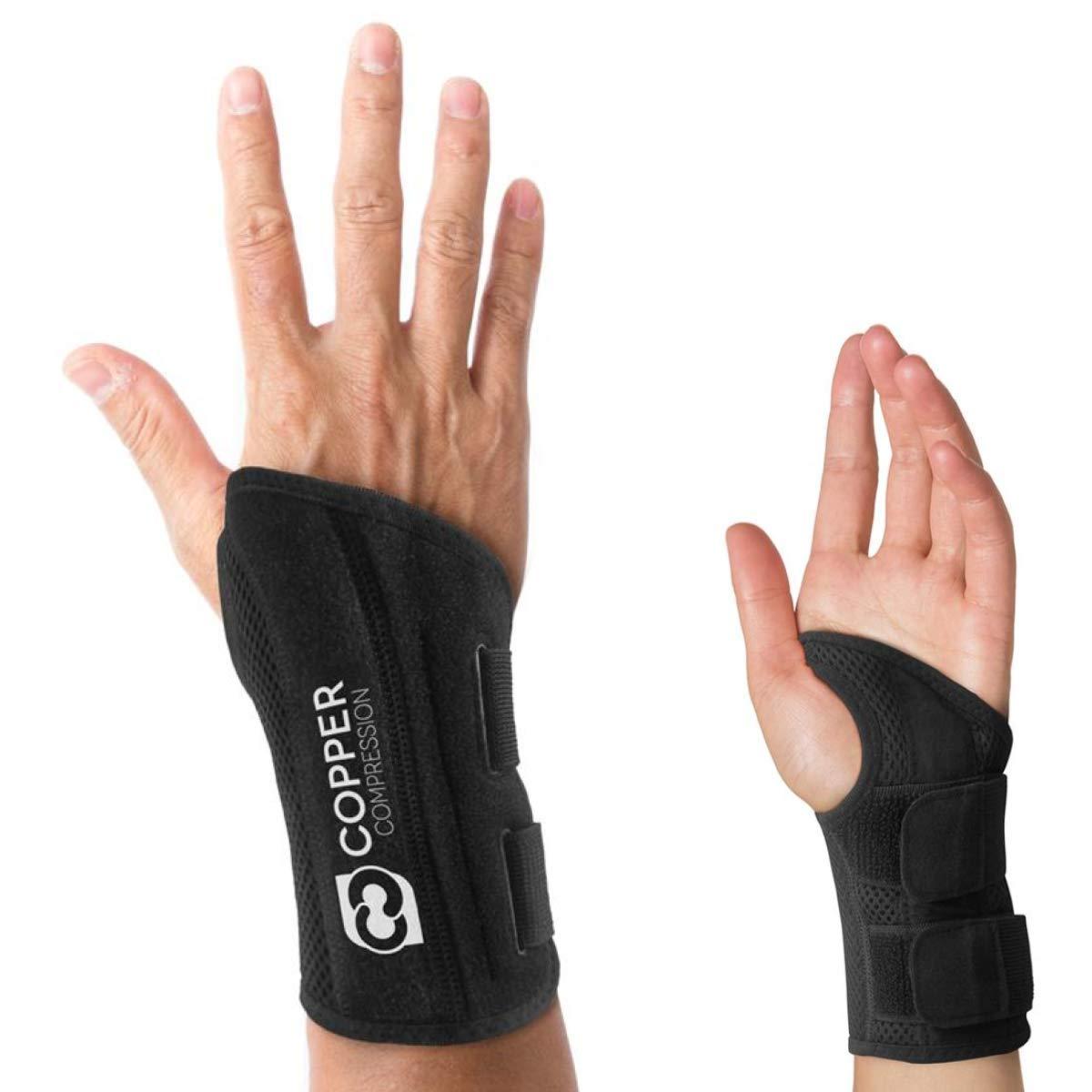 Copper Compression Wrist Brace Tendonitis