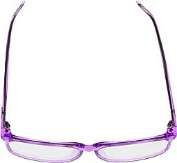 Purple/Clear Blue Light