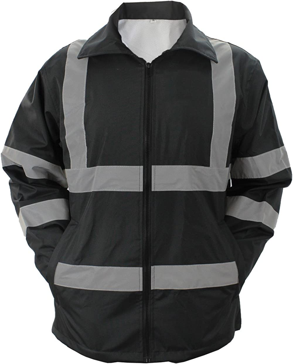 First Max 70% OFF Class HIGH Visibility Reflective Raincoat Stripes Special price with