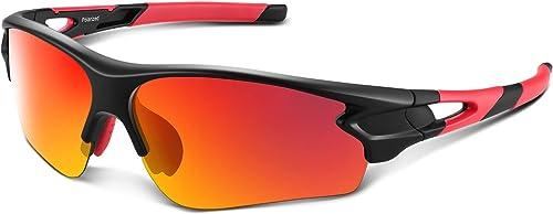 lunettes de soleil CE EN166 ft Miroir bleu lentille enrouler autour de cyclisme lunettes de sécurité