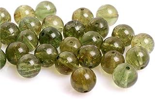 8-9mm naturel /émeraude facettes rondes semi-pr/écieuses perles de pierres pr/écieuses en vrac pour la fabrication de bijoux collier Bracelet boucles doreilles Perles rondes 13 brin