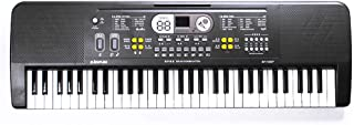 Yorten 61 Keys Digital Music Electronic Keyboard Kids Multifunctional Electric Piano for Piano Student with Microphone Mus...