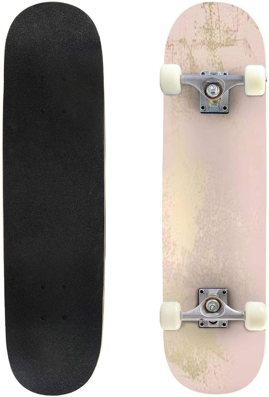 Classic Concave SALENEW very popular! Max 63% OFF Skateboard Abstract Grunge Longbo Vector Texture