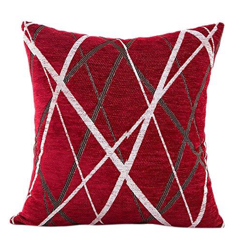 Keerads - Funda de cojín para sofá, tamaño Throw, diseño de flores, 45 x 45 cm