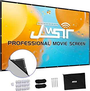 Screens Spectrum Electric Motorized Projector Screen with Multi Aspect Ratio 150 inch