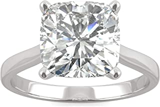 cushion cut moissanite