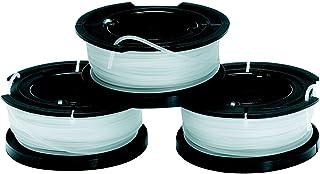 Black & Decker A6485 Draadspoelen Voor Trimmer, 10M Lengte, 3 Stuks
