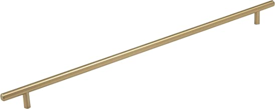 Amerock BP19016BBZ Bar Cabinet Pull, 18-7/8 in (480 mm) Center-to-Center, Golden Champagne