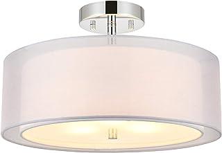 JOPON 3-Light Semi Flush Mount Ceiling Light Fixtures ,...