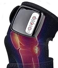 Verwarmde knie wikkelmassager,verstelbare verwarmde en massageknie-verwarmingskussens met fysiotherapie massage-functie en...