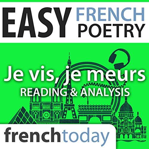 Je vis, je meurs (Easy French Poetry) audiobook cover art