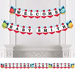 2 Personalised Baby Shower Blessing Party Celebration Banners Decoration Posters
