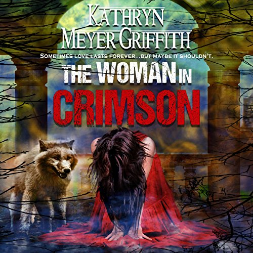 The Woman in Crimson audiobook cover art