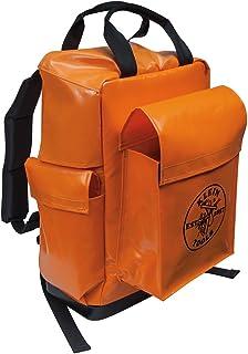 Klein Tools 5185ORA Lineman Backpack, Orange