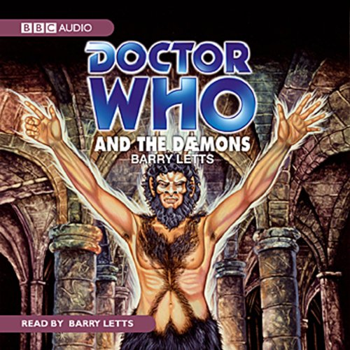 Doctor Who and the Daemons audiobook cover art