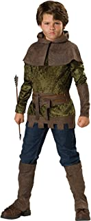 InCharacter Costumes, LLC Boys 2-7 Robin of Nottingham Tunic Set, Forest Green, Size 6
