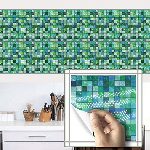 Pegatinas de Azulejos a Prueba de Agua Norte de Europa Moderno Simple Simple Herringbone Estilo Tile Paste Dormitorio Cocina Sala de Estar Papel Tapiz (Color : TS022, Size : 10cmx10cm)