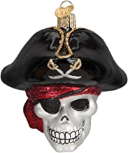 Old World Christmas Ornaments: Jolly Roger Glass Blown Ornaments for Christmas Tree