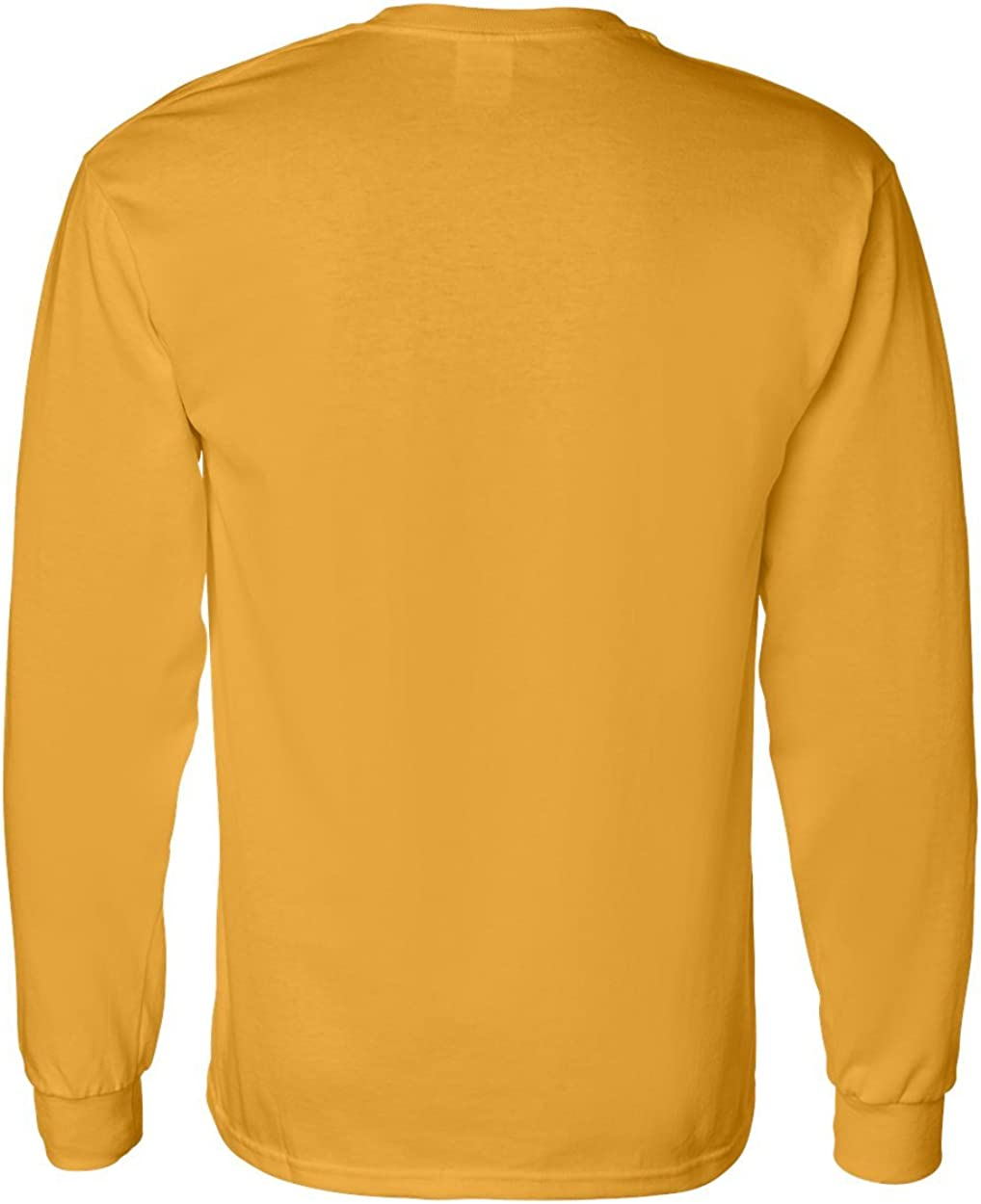 XXL Men/'s Ultra Cotton Gildan Long Sleeve T-SHIRT Charcoal blank plain tee S