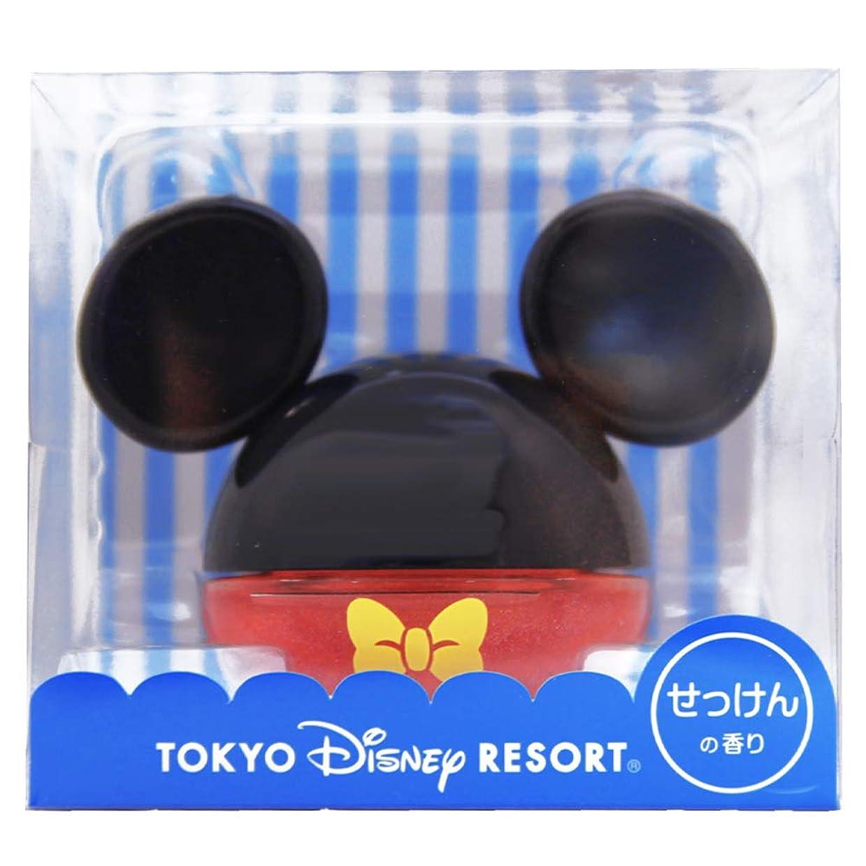 ルームフレグランスジェル ( ミッキー マウス ) せっけんの香り 芳香剤 部屋 ルーム フレグランス ジェル ( ディズニー リゾート限定 お土産 )