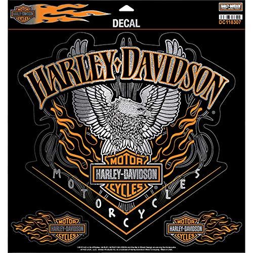 Harley-Davidson Aufkleber Adler Pinstripes