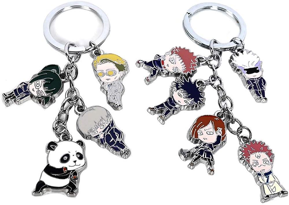 Jujutsu Kaisen Itadori Yuji Cute Keychain Badge Brooch Pins Cartoon Keyring gift