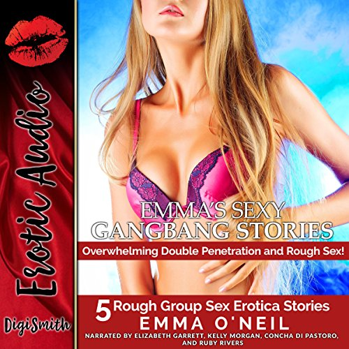 Emma's Sexy Gangbang Stories audiobook cover art