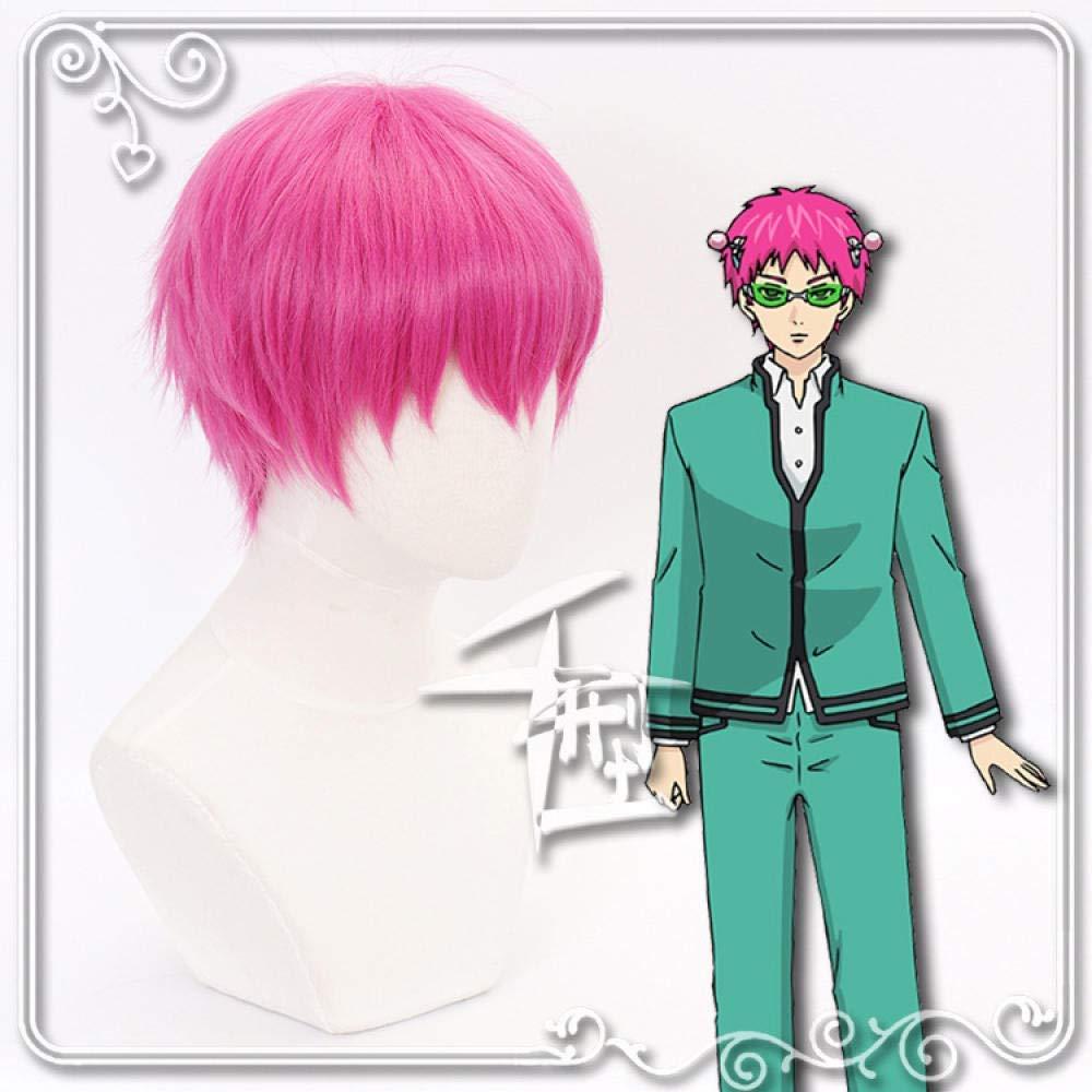 Jsmhh Anime Regular store cosplay Challenge the lowest price of Japan wig high Kusuo n Saiki temperature resistant