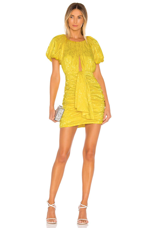 Available at Amazon: for Love and Lemons Fiji Mini Dress Pineapple