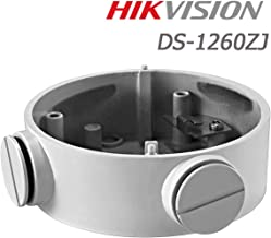 Hikvision DS-1260ZJ CB130 Original Wall Mount Bracket Aluminum Wall Junction Box Base for Bullet IP Camera DS-2CD2642FWD-IZS DS-2CD2632F-IS DS-2CD2632F-I DS-2CD2612F-I DS-2CD2612F-IS