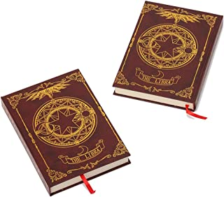 Bowinr 1 Pack Cardcaptor Sakura Notebook, 200 Sheets Japanese Anime Journal for Taking Notes and Drawing( Style 01)