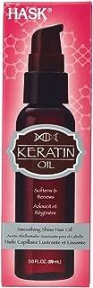 Hask Smoothing Shine Hair Oil, 2 Ounce (Keratin Oil)