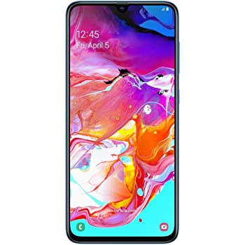 Samsung Galaxy A70 A705M 128GB DUOS GSM Unlocked Android Phone W/Dual 32MP Camera (International Variant/US Compatible LTE) - Blue