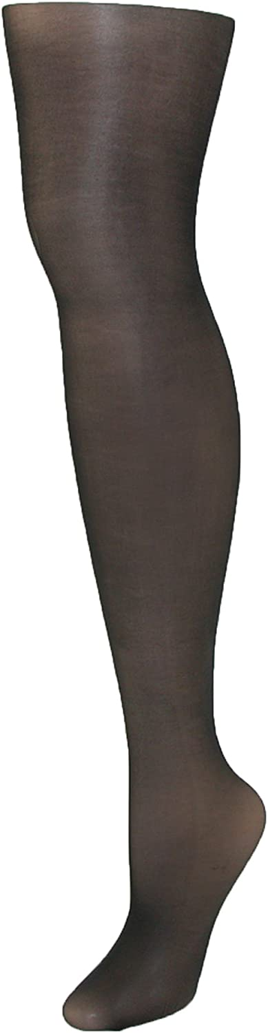 Just My Size Women's Plus Size Run Resistant Control Top Panty Hose