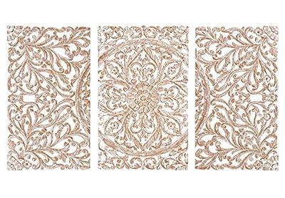 Cabecero panel mural decorativo MANDALA Faisanhome.com Debido al carácter artesano del artículo advertimos que las medidas pueden variar sensiblemente así como los acabados y artes finales de cada pieza.