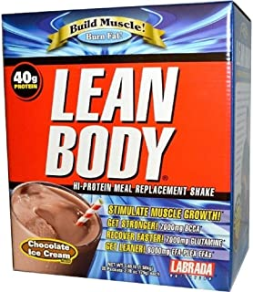 LABRADA Nutrition, Low CARB Lean Body Vanilla 20/Pack