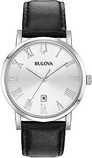 Bulova - Reloj slo el Tiempo del Hombre Bulova Correa de Cuero Negro Ref. 96B312