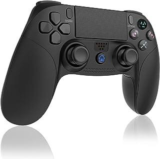 TUTUO Mando Inalámbrico para PS4, Gamepad Wireless Bluetooth Controlador Controller Joystick con Vibración Doble Remoto Compatible con Playstation 4/PS4 Slim/Pro and PS3