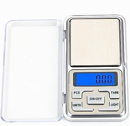 YBDL Portable Pocket Digital Standard (Scale) Digital Ruler Electronic Measurement Equipment Business Use (Professional)0.01g-500g Precision (120 * 62 * 20mm)