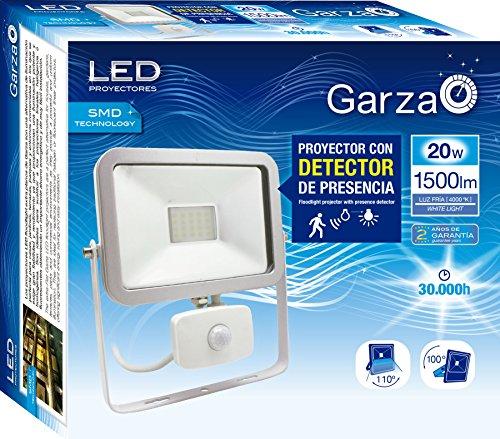 Garza Lighting Outdoor - Foco Proyector ISPOT LED de Exterior con Detector...