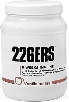 226ERS K-Weeks Immune, Fortalece el Sistema Inmune con Proteína Whey Aislada, Megaflora 9 EVO, Jalea Real y Vitamina B6, Café Vainilla - 500 gr