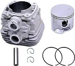 Woniu 50mm Cylinder Head Piston Kit for Stihl TS410 TS420 Cut Off Saws Replace 4238 020 1202