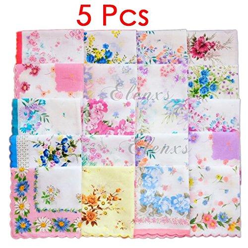 Yangge Yujum Baumwollgaze Nuscheli Schöne Blumenmuster Handkerchief Handtuch