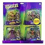 Tortugas Ninja - Pack de 4 figuras, 14 cm (Giochi Preziosi 90610),...